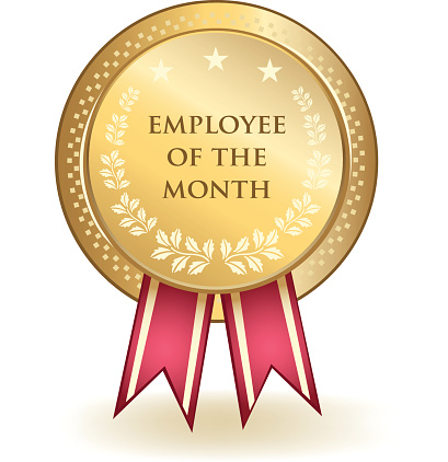 employee of the month signs