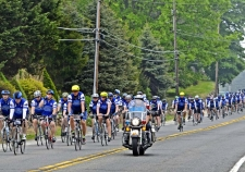 Staff photos by Tom Kelly IVOver 100 law enforcement officers from all over the country are currently taking part in the 2015 Police Unity Tour Chapter 9 bicycle ride from Philadelphia to Washington DC. The tour seen here, traveled on Route 352 near Gradyville Road in Edgemont Township. The tour which started in Philadelphia on May 9th travels through Chester and Delaware counties, and ends 250 miles later in the nations capital on May 12th.